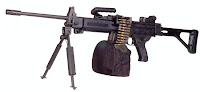 IMI Negev light machine gun LMG