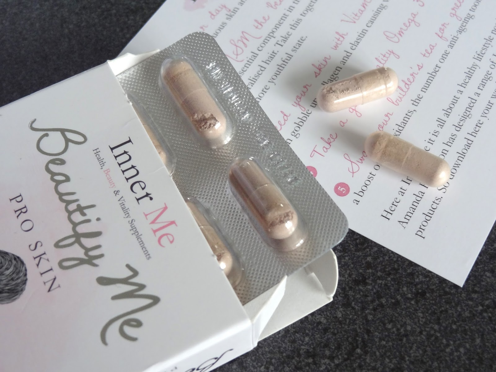 Inner Me Supplement Beautify Me Pro Skin