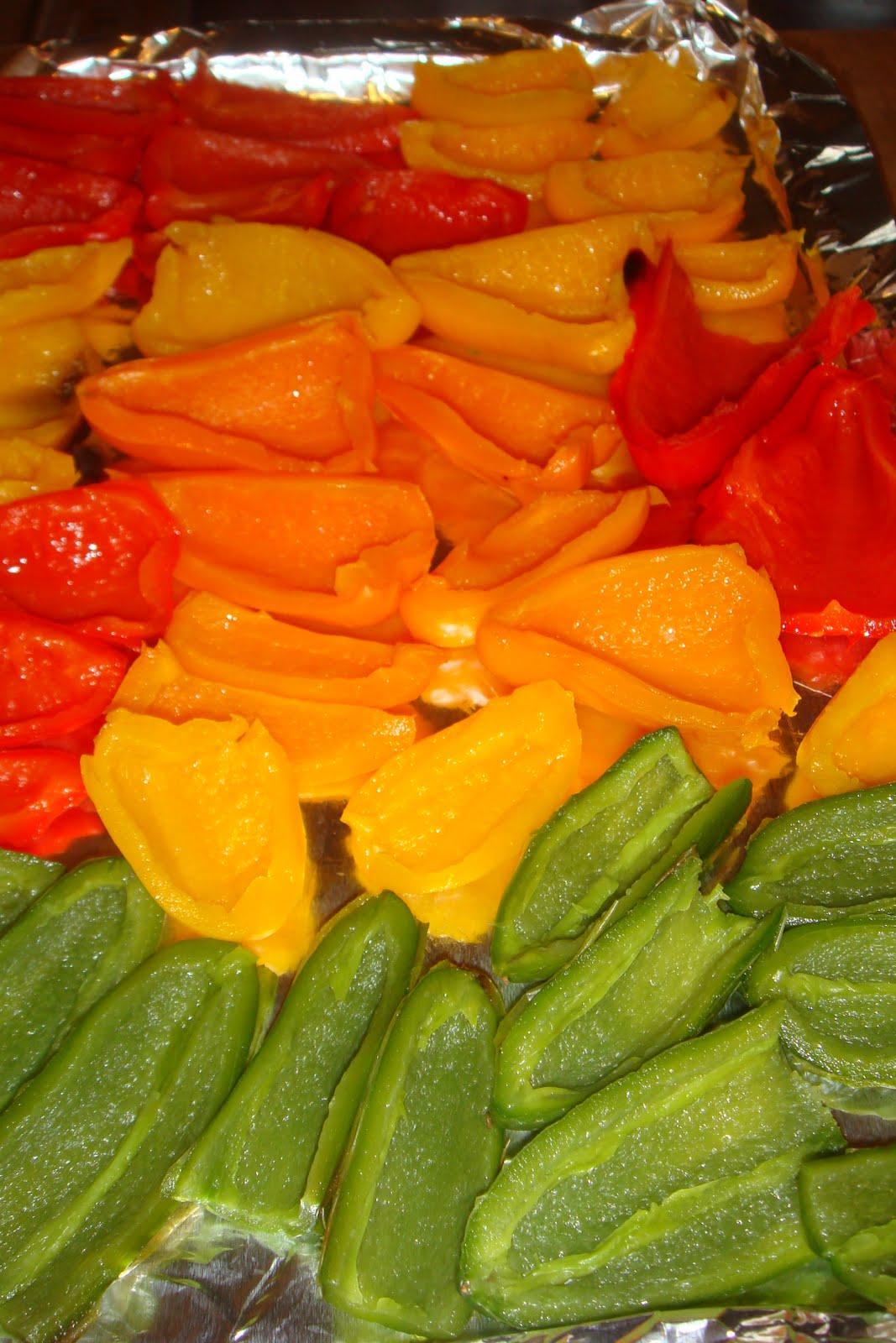 Gourmet Gibbs: Feta Stuffed Peppers