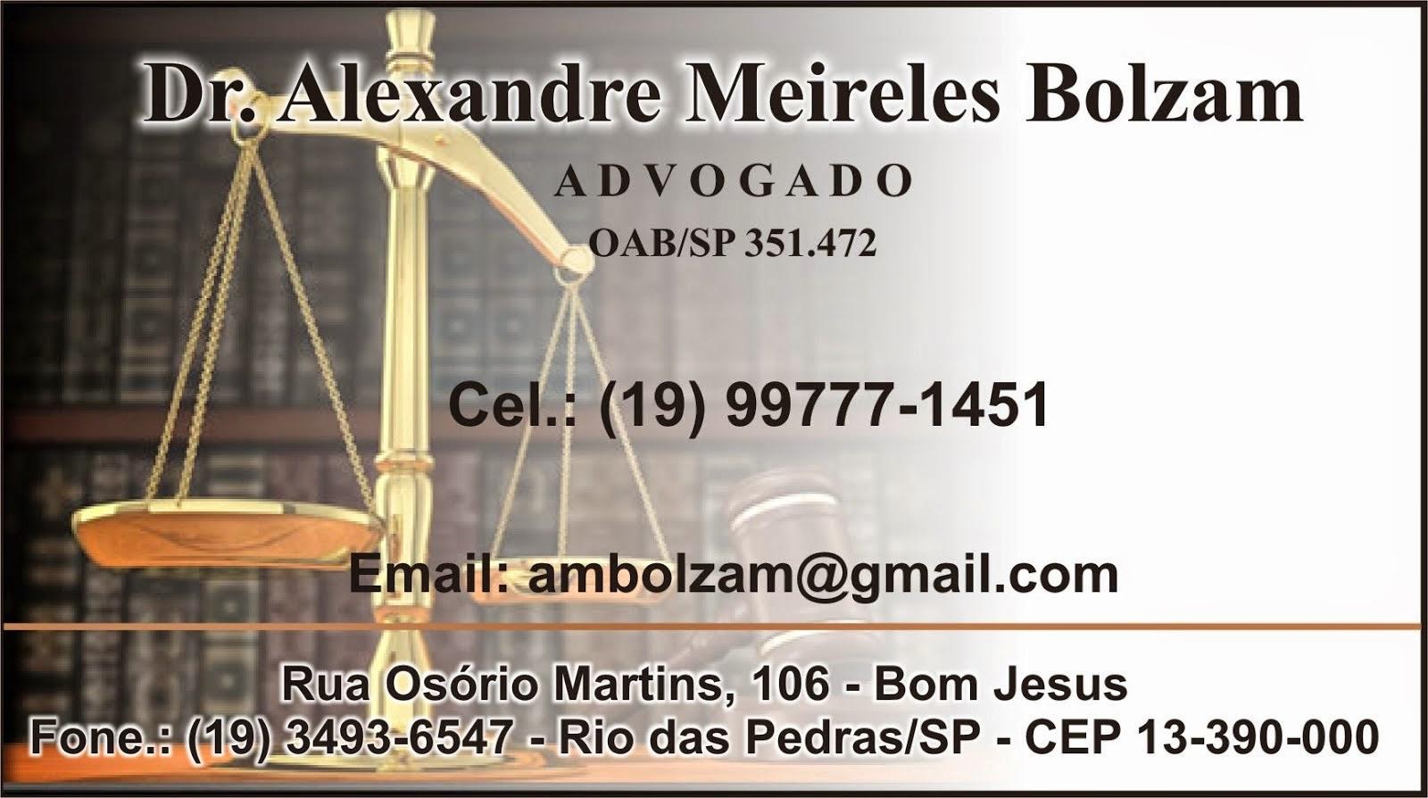 DR. ALEXANDRE MEIRELES BOLZAM