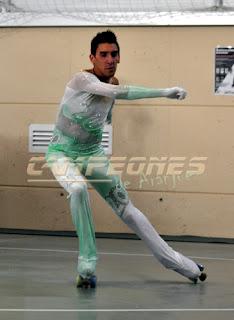 Daniel Arriola patinador