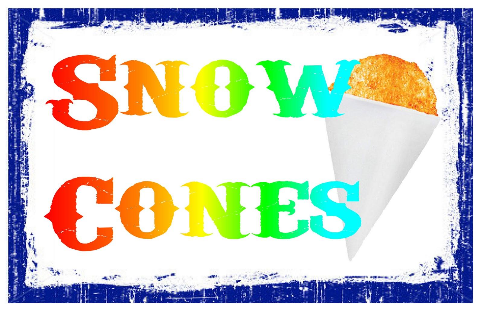 free clipart of snow cones - photo #38