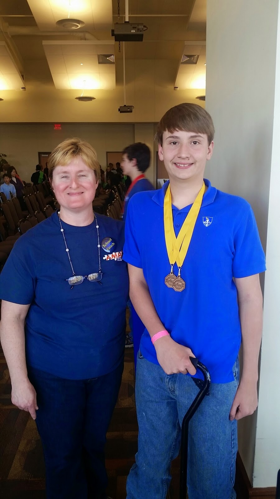 Montgomery Catholic's Middle School Competes at Regional Science Olympiad Competition in Auburn 2