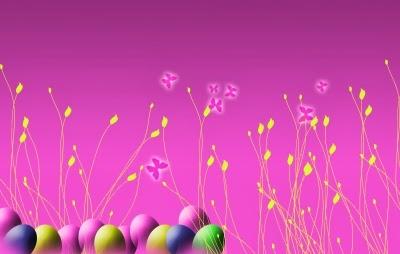 خلفية جميلة لعيد الربيع - شم النسيم 2014.