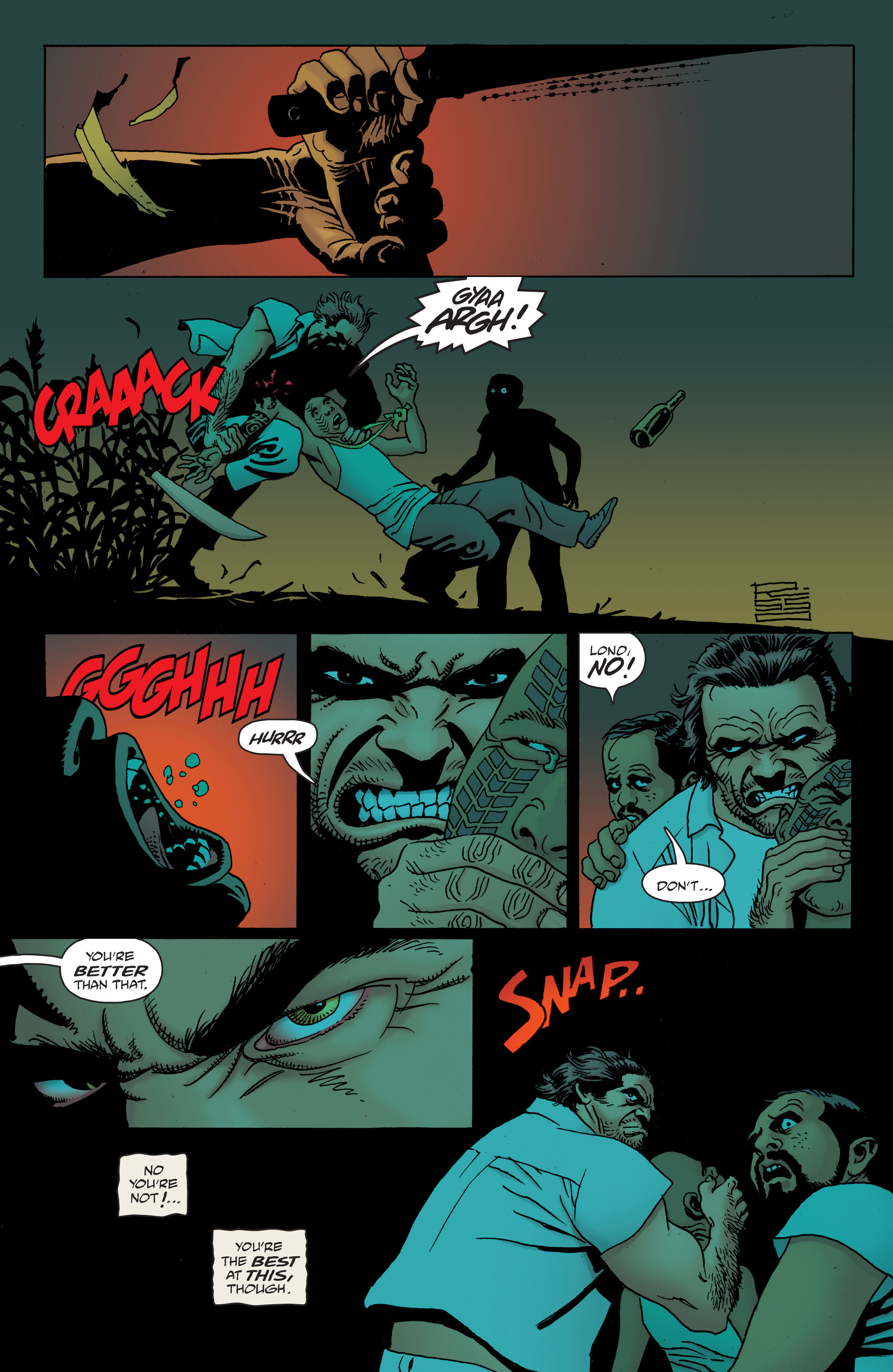 100 Bullets: Brother Lono Full Page 75