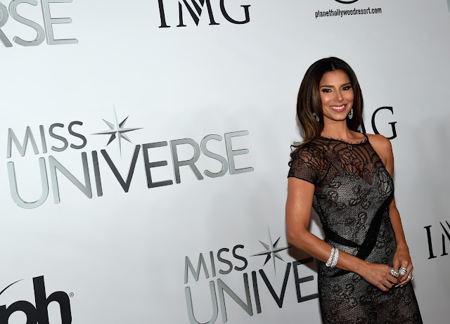 Roselyn Sanchez attends the 'Miss Universe Pageant'