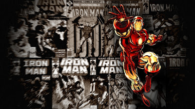 Fan Made Iron Man Comic Wallpaper 1600x900