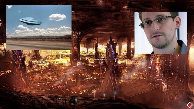 Την είπε την βλακεία του ο Ε.Σνόουντεν: «Δεν υπάρχουν εξωγήινοι - Τα νοήμονα όντα ζουν εδώ και εκατομμύρια χρόνια στο εσωτερικό της Γης»