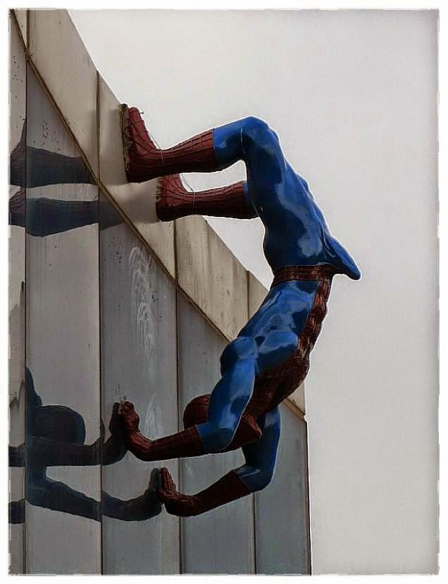 Erected Spiderman.