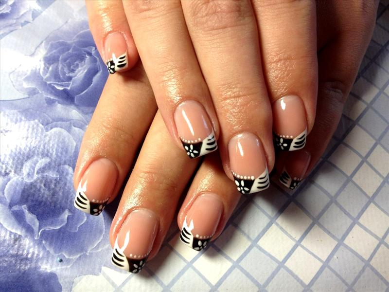 Cute And Easy French Manicure