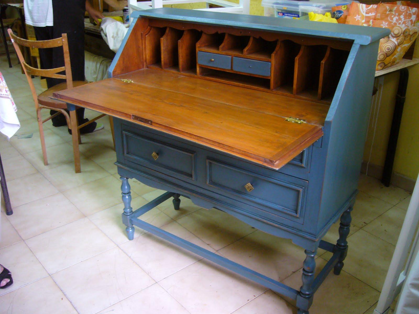 Muebles Antiguos Pintados De Colores Sillas Restauradas Sillas  # Muebles Reformados