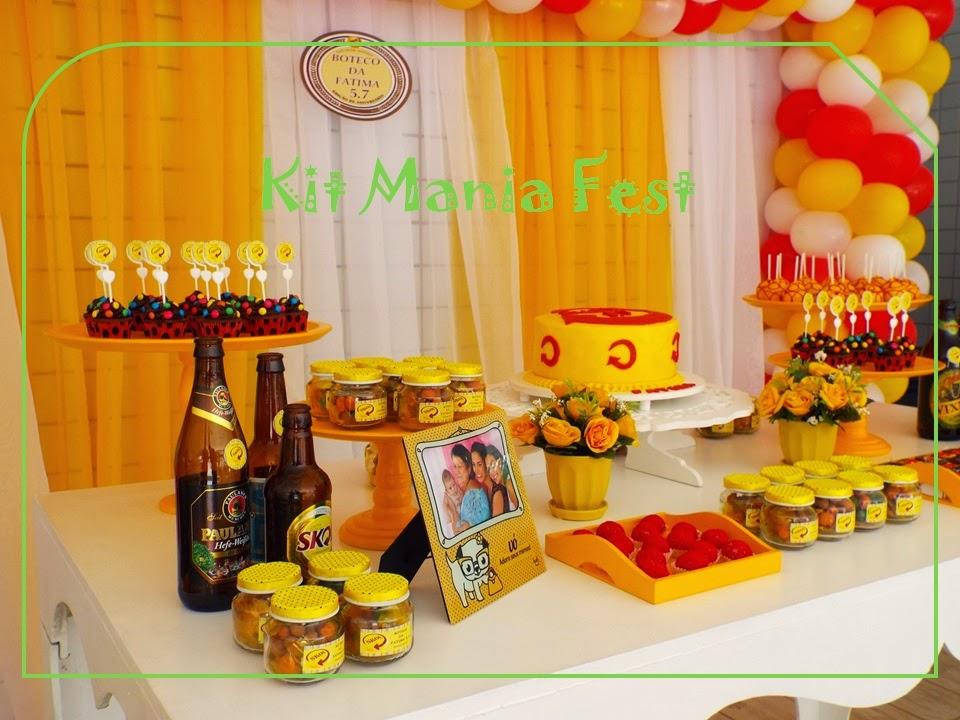 Kit Mania Fest: Skol - Festa da Skol