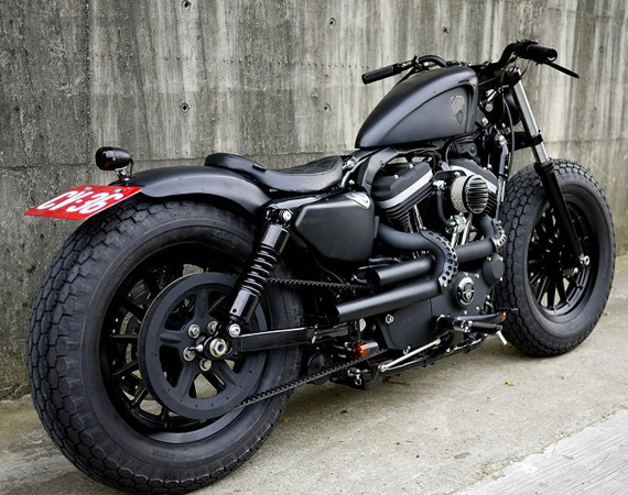 Harley-Davidson Sportster Iron 883 | Iron Guerilla | Custom Harley-Davidson Sportster Iron 883 |  Custom Harley-Davidson Sportster