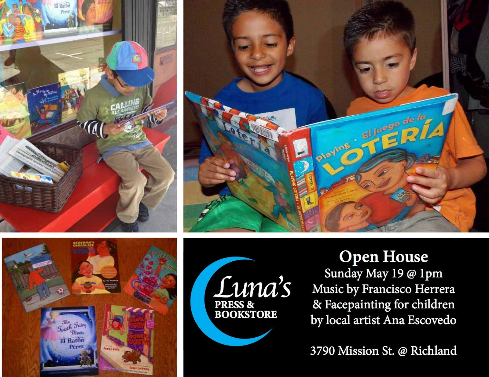 la bloga welcome luna s press bookstore to order books you can friend us on facebook luna s press soon we will have our list of children s books poetry books and arts and crafts