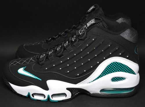 Nike Air Griffey Max I Black White Kellogg Community College