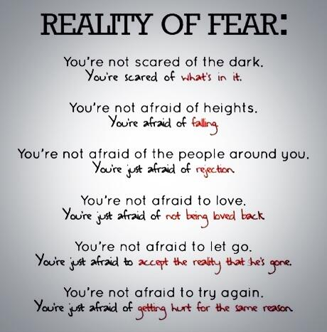 #04-Quotes : Reality Of Fear