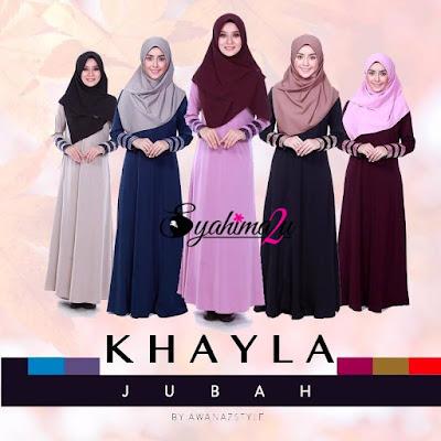 KHAYLA-Jubah