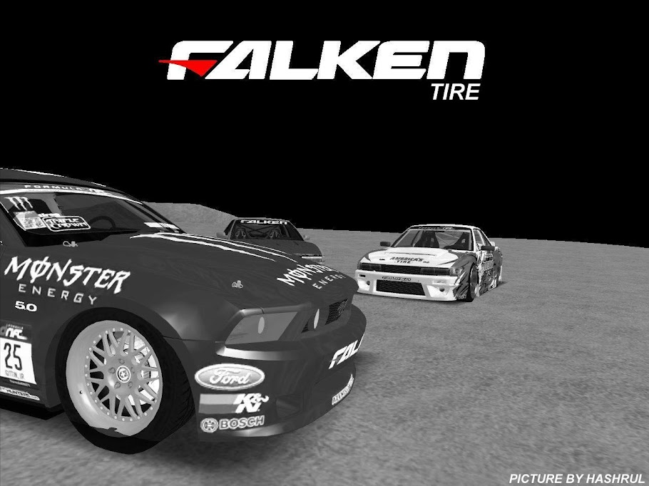 discount tire drift car. Falken Tire Drift Team