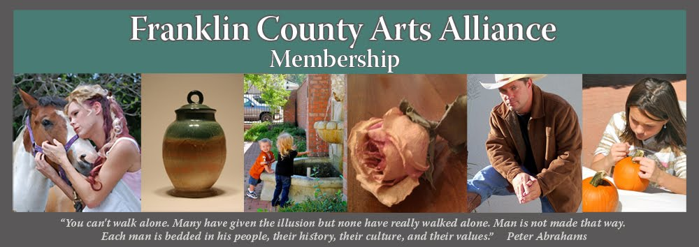 Franklin County Arts Alliance Membership