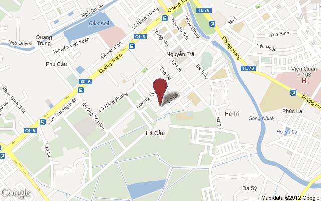 staticmap Xuân Mai Tower