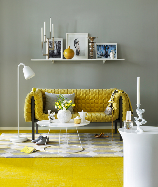 Decorar con amarillo la casa ideas para decorar dise ar - Ideas para decorar muebles ...