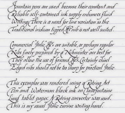 Images gallery of script handwriting
