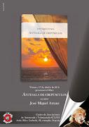 """Presentación Libro """"Antesala de crepúsculos"""" de José Miguel Arranz"""