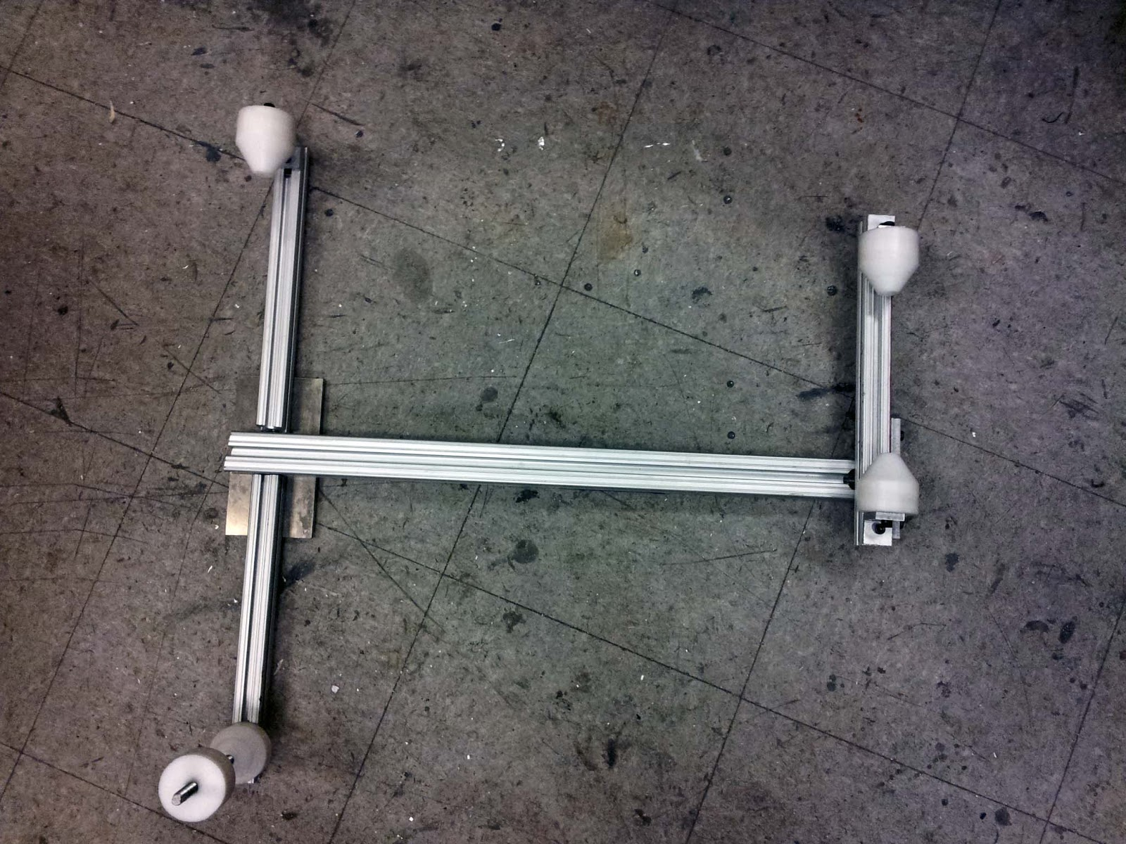 Buildits In Progress Bike Frame Jig