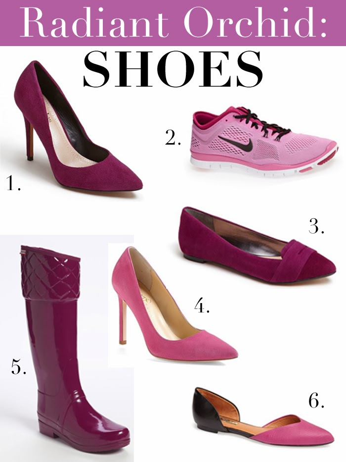 Radiant Orchid Color Inspiration: SHOES