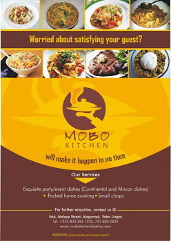 At Mobo Kitchen They make it happen in No time!!! Call now 08033521220.