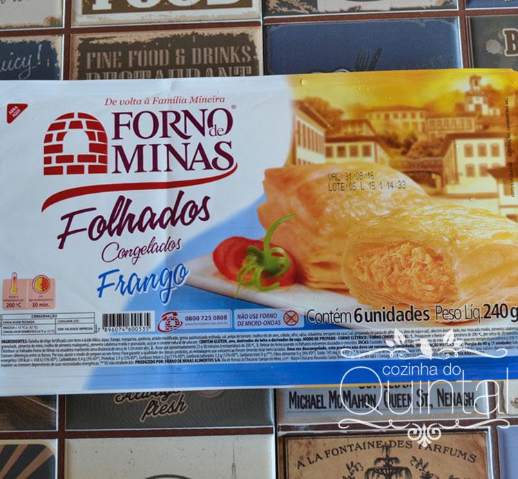 Forno de Minas no Amigas Conectadas na Cozinha do Quintal Folhadinho