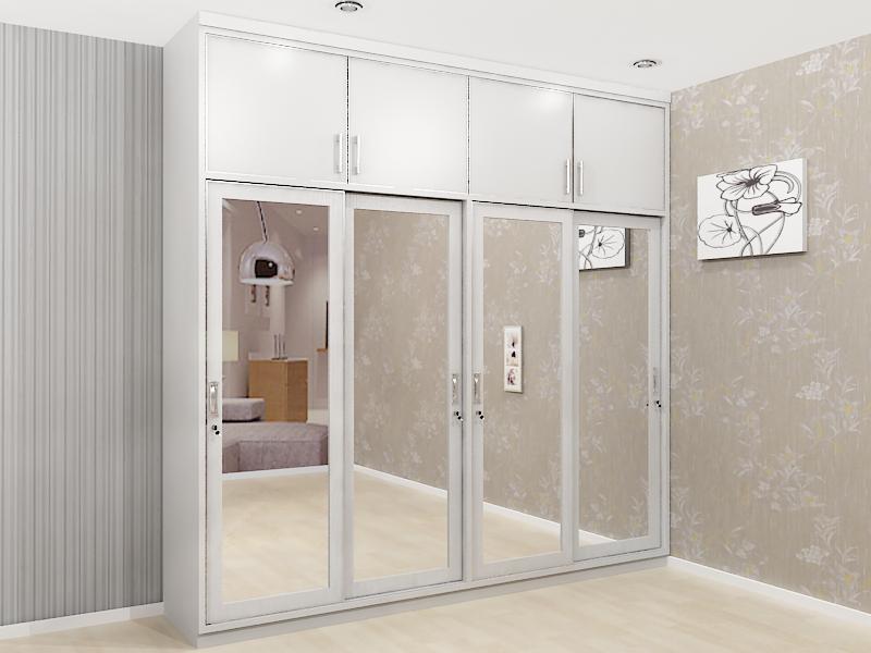 Lemari Pakaian Minimalis Dian Interior Design | Auto