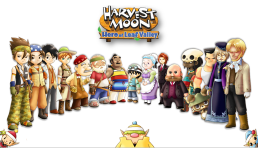 Harvest Moon: Hero of Leaf Valley HD Cover
