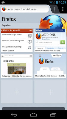 Download Mobile Browser Firefox Untuk Android Terbaru