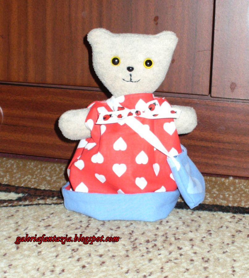 Dwustronny miś/ A reversable Teddy bear