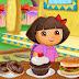 วีดีโอการเล่นเกม Dora Feasting Time ป้อนขนมดอร่าสาวน้อยจอมแก่น