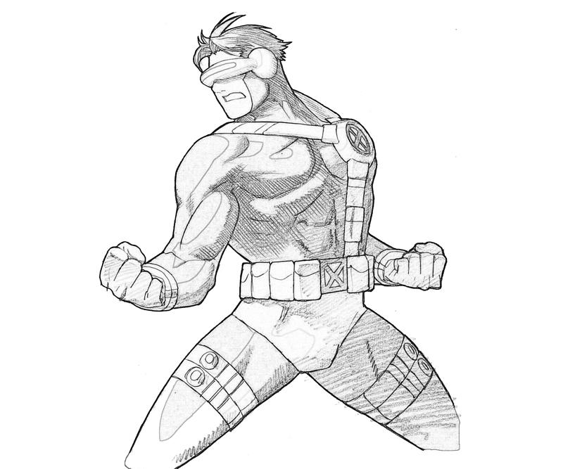 printable-marvel-ultimate-alliance-2-cyclops-look_coloring-pages