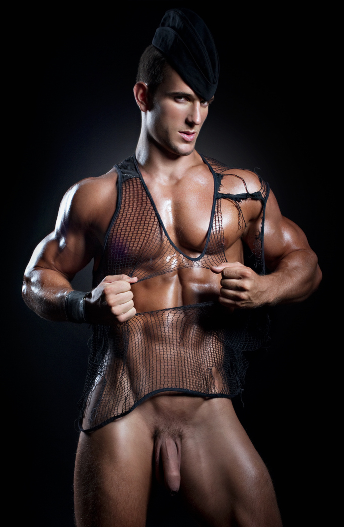 Justin Monroe Nude Men
