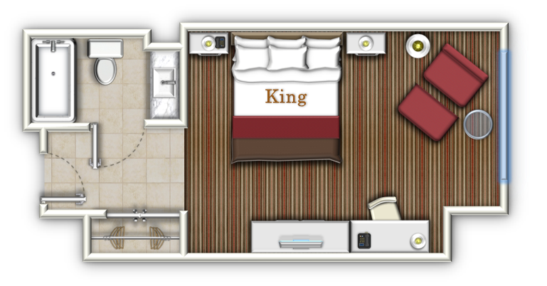 Room layout design for Room layout builder