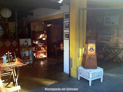 Platô Bar e Restaurante: Ambiente interno