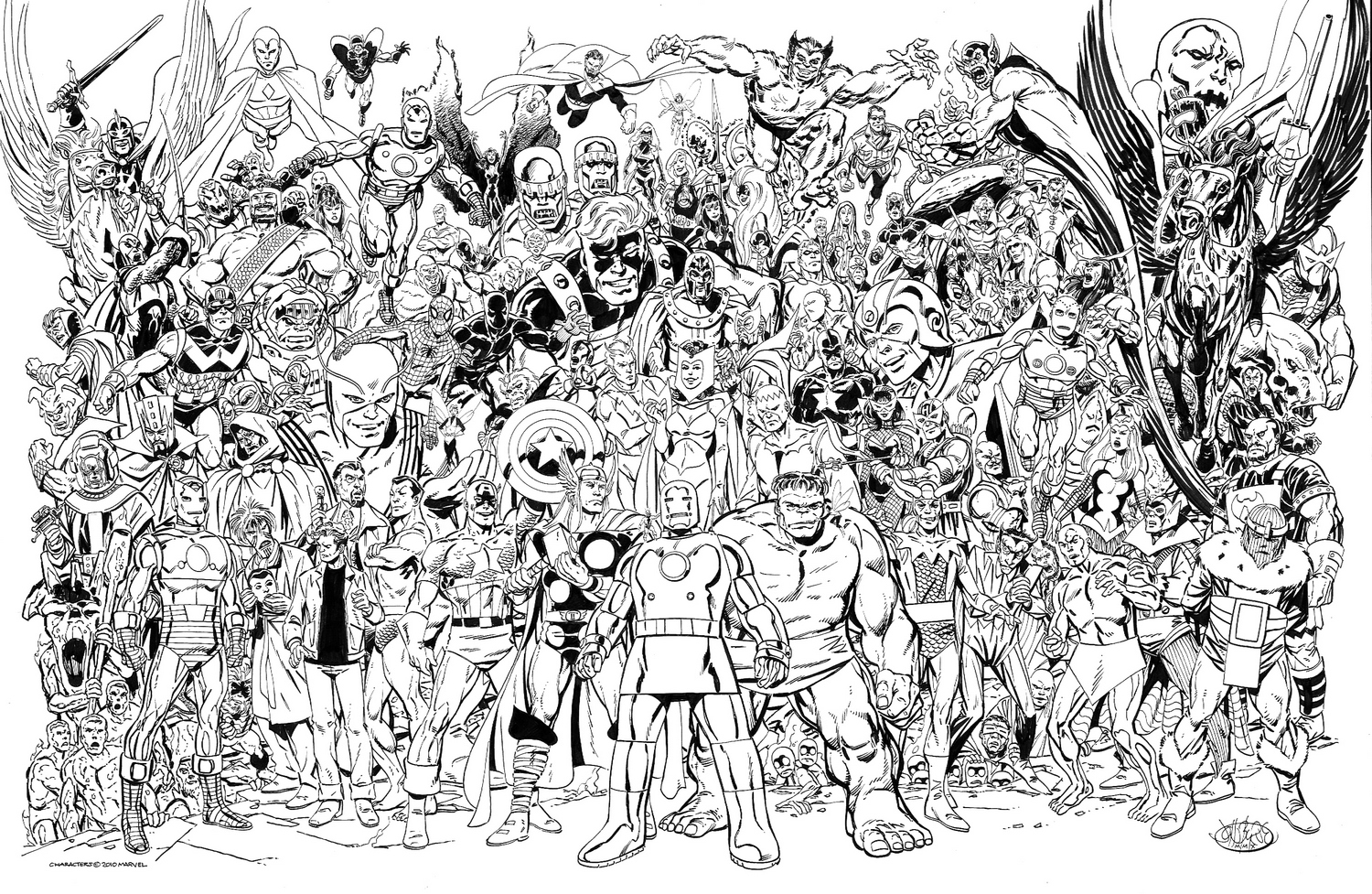 marvel comics of the 1980s avengers universe by john byrne - Marvel Coloriage