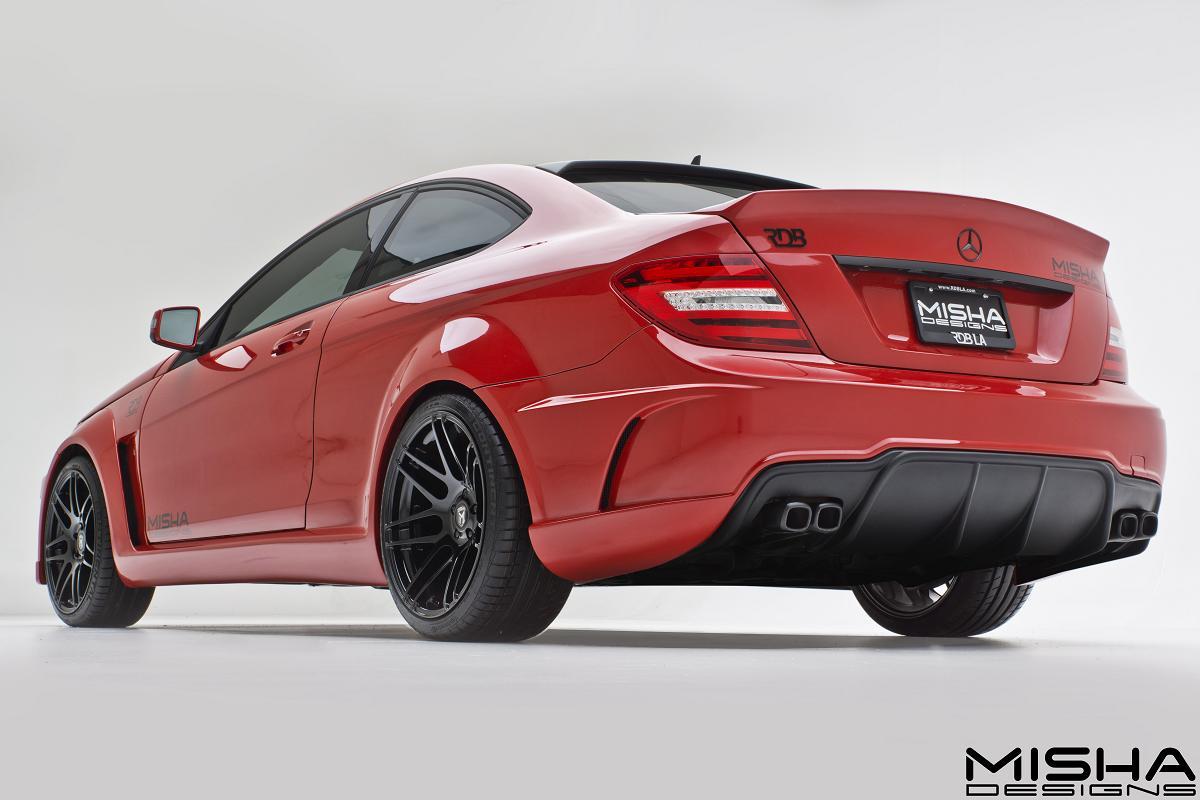 Davide458italia mercedes benz c class coupe by misha designs - Mercedes c class coupe body kit ...