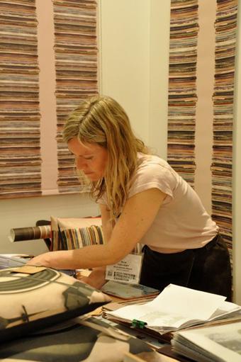 Ella Doran at work