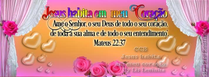 Jesus habita em meu Coração