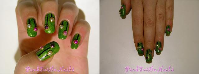 http://pinkturtlenails.blogspot.com.es/2015/12/winter-nail-art-challenge-tinsel.html