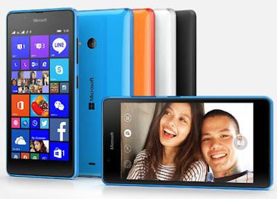 Spesifikasi dan Harga Microsoft Lumia 540 Dual SIM