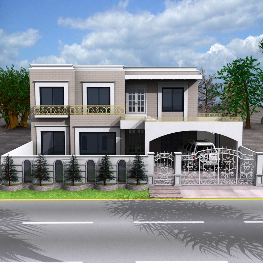 3d Front Elevation Com Dimetia Pakistani 2 K2nal House 3d: Moved Permanently