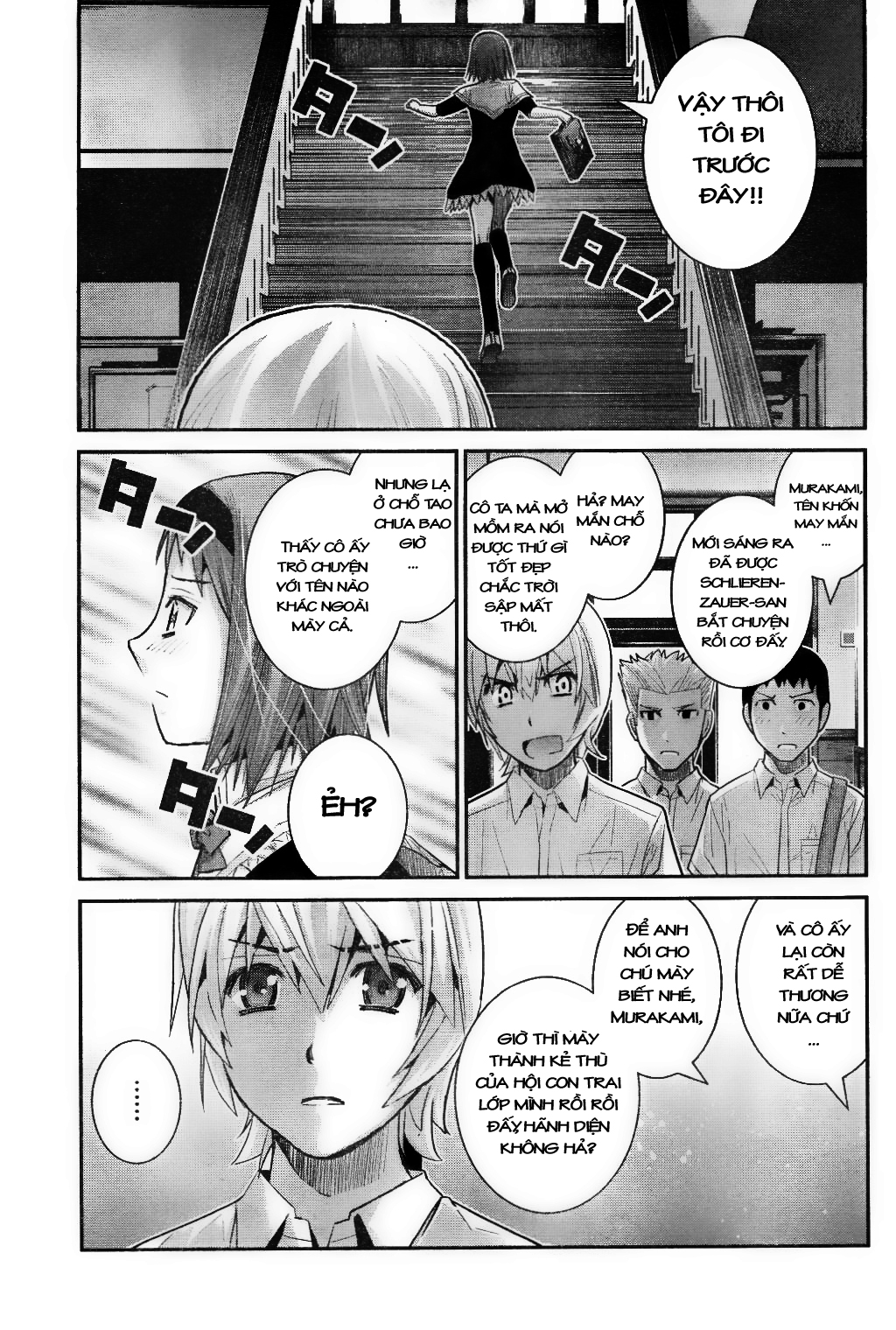 Gokukoku no Brynhildr chap 22 Trang 5 - Mangak.info