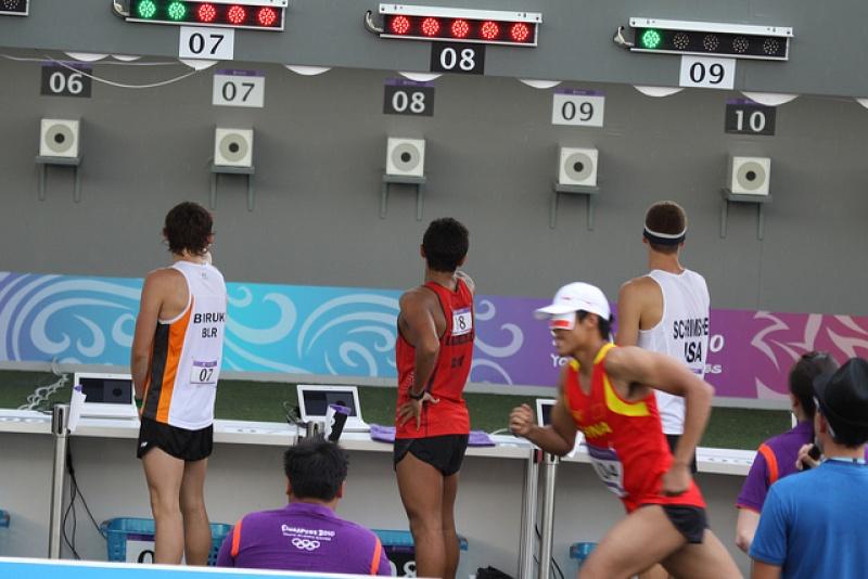 Modern pentathlon olympics 2012