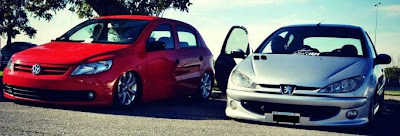 Volkswagen Gol vs Peugeot 206